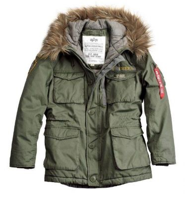 Zobrazit detail - Alpha Industries Mountain Rescue Parka Dark Green
