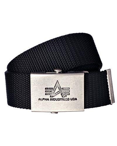 Alpha Industries opasek Heavy Duty black
