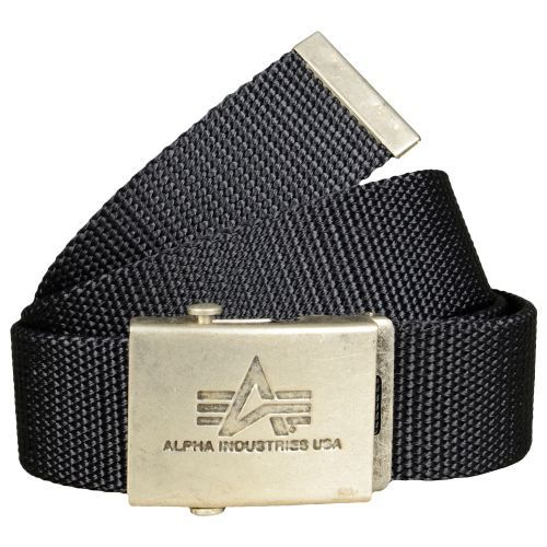 Alpha Industries opasek Heavy Duty Belt Rep. grey