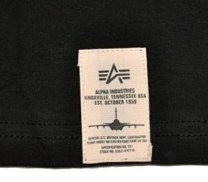 Alpha Industries triko s potiskemProud - Etappa