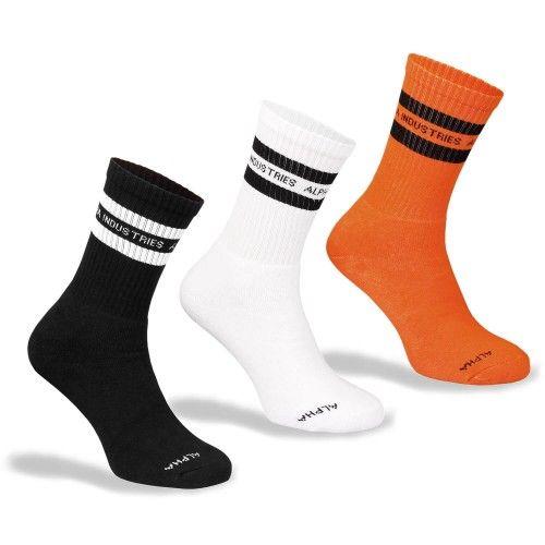 Alpha Industries Stripe Socks Box
