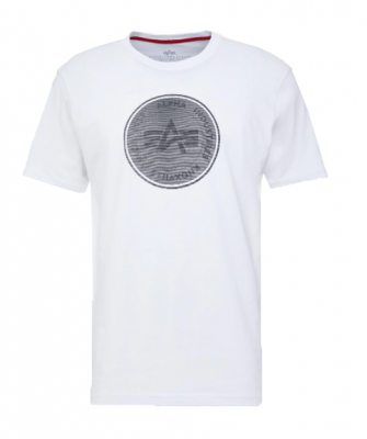 126503-09 Alpha Industries Hologram T (white)