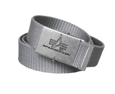 Alpha Industries opasek Heavy Duty Belt (Silver)