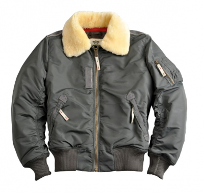 Bunda Alpha Industries Injector III (greyblack)