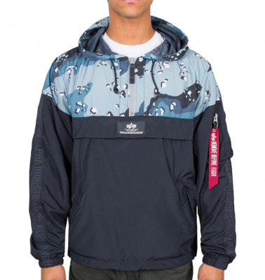 Alpha Industries Tape Anorak (navy/choc.chip)