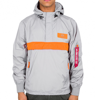 126133-31 Alpha Industries Defense Anorak (silver)