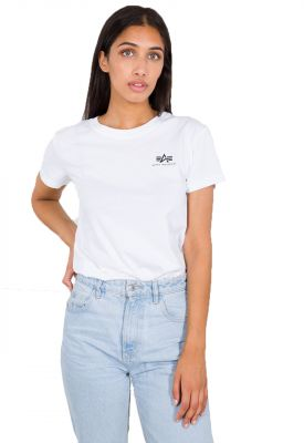 196054-09   Alpha Industries Basic T Small Logo Wmn