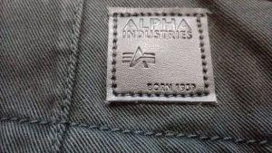 Alpha Industries Agent Pant (black)