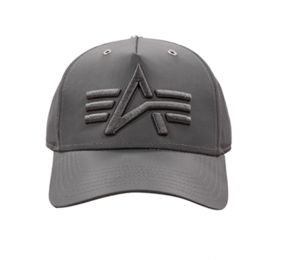 Alpha Industries Flight Cap (rep. grey)