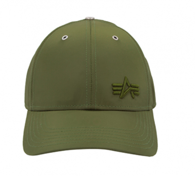 Alpha Industries Small Logo Flight Cap (dark green)