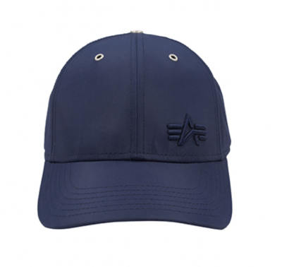 Alpha Industries Small Logo Flight Cap (rep. blue)