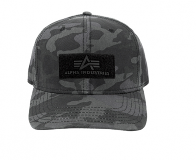 168903-125 Alpha Industries VLC Cap (black camo)