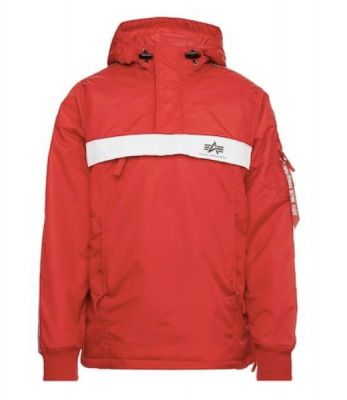 Alpha Industries AI Tape Anorak (red)