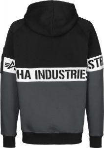 198359-03 Alpha Industries AI Stripe Hoody
