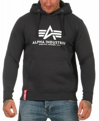 Alpha Industries Basic Hoody (iron grey)