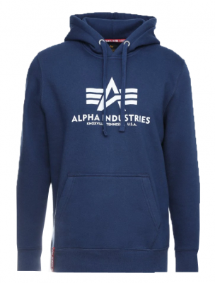 Alpha Industries Basic Hoody (new navy)