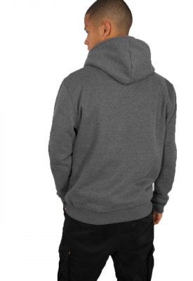 Alpha Industries Basic Hoody (charcoal heather)