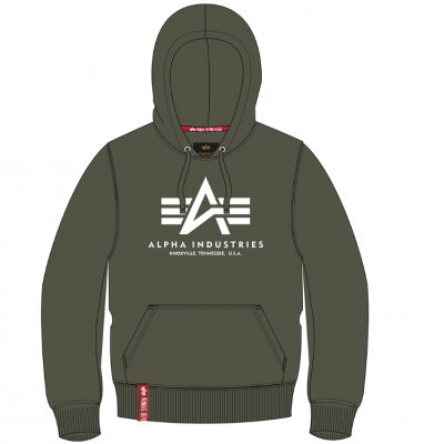 Alpha Industries Basic Hoody (dark olive)