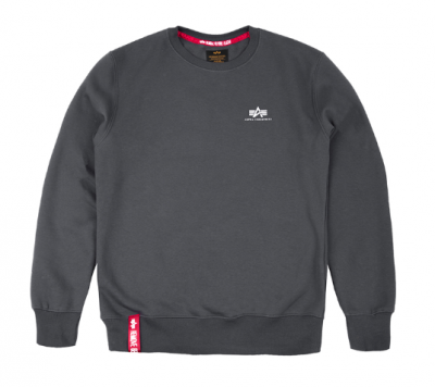Alpha Industries Basic Sweater Small Logo (greyblack)