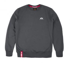 Alpha Industries Basic Sweater Small Logo (greyblack)