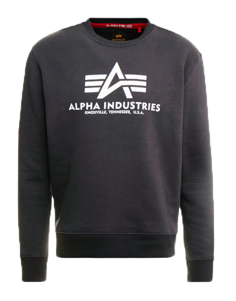 Alpha Industries pánská mikina Basic Sweater (tm.šedá) - Etappa