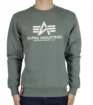 Alpha Industries Basic Sweater (vintage green)