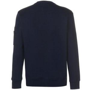 Alpha Industries pánská mikina NASA Reflective Sweater modrá - Etappa