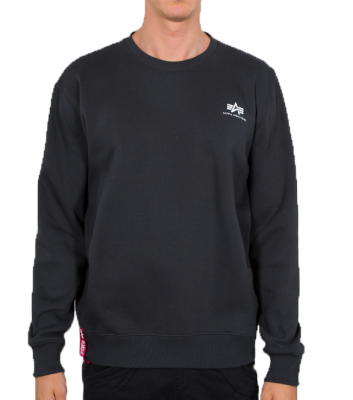 Alpha Industries Basic Sweater Small Logo (iron grey)