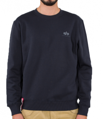 Alpha Industries Basic Sweater Small Logo (rep. blue)