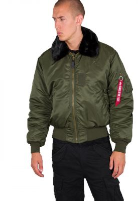100107-257 Alpha Industries bunda B-15 (dark green)