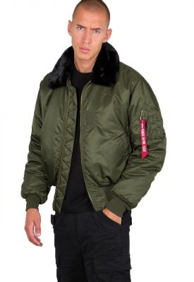 Alpha Industries bunda B-15 (dark green)