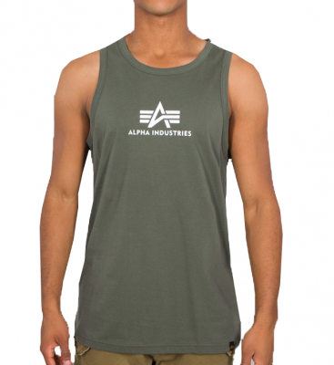 Alpha Industries Basic Tank (dark olive)