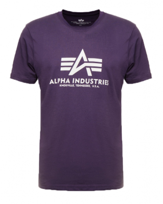Alpha Industries Basic T (nightshade)