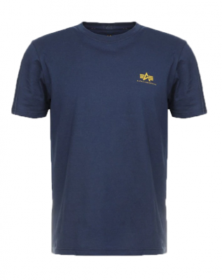 Alpha Industries Basic T Small Logo (new navy)