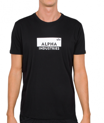 Alpha Industries Box Logo T (black)