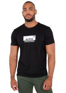 Alpha Industries pánské triko Box Logo T (černé) - Etappa