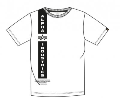 Alpha Industries Defense T white
