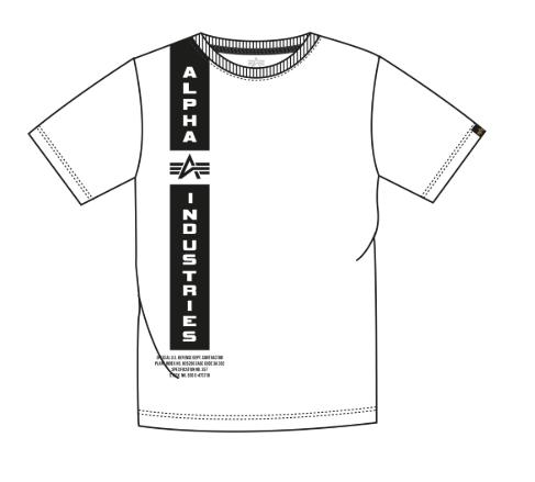 198512-09 Alpha Industries Defense T white