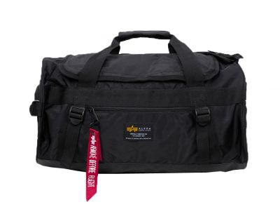 Alpha Industries taška Crew Duffle Bag (black)