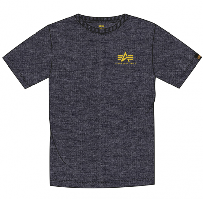 Alpha Industries Basic T Small Logo (charcoal heather)