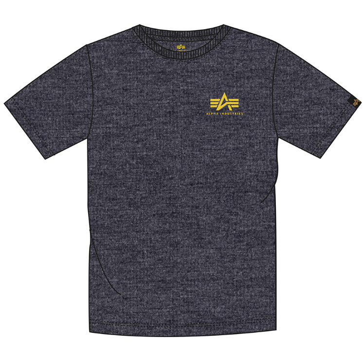 Basic T Small Logo (charcoal heather)