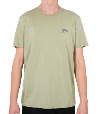 Alpha Industries Basic T Small Logo (light olive)