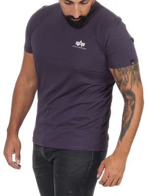 Alpha Industries Basic T Small Logo (nightshade)
