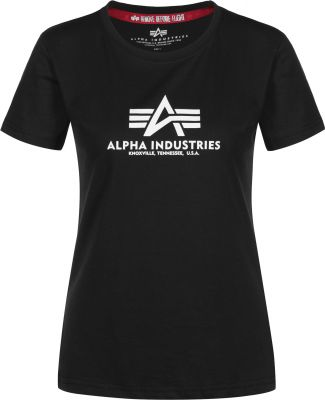 Alpha Industries dámské triko New Basic T (black)