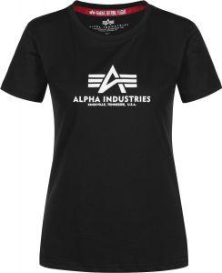 Alpha Industries dámské triko New Basic T (black)