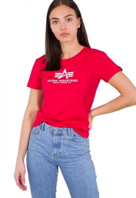 Alpha Industries dámské triko New Basic T (speed red)