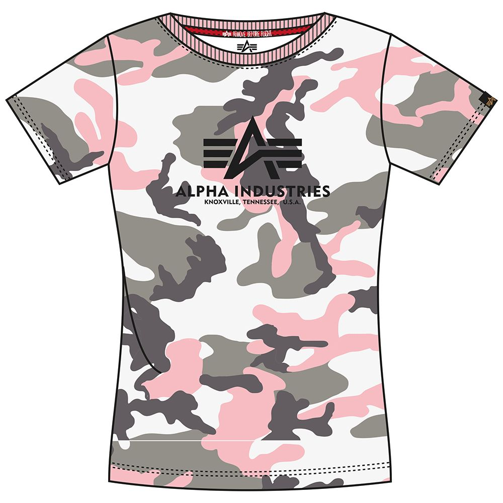 Alpha Industries dámské triko New Camo Basic T