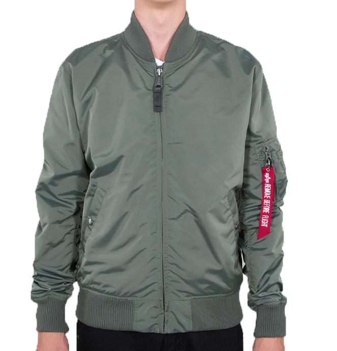 Pánská bunda Alpha Industries MA-1 TT vin. zelená - Etappa