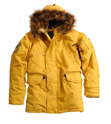 Alpha Industries Explorer (mustard)