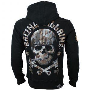 Yakuza Premium sweater ziphoody YPHZ 2925 (black)